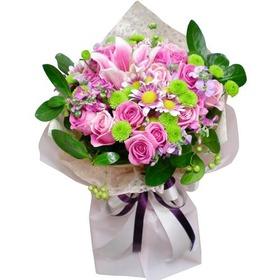 르네브혼합꽃다발